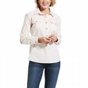 Ariat Ladies Washed Twill Popover Shirt