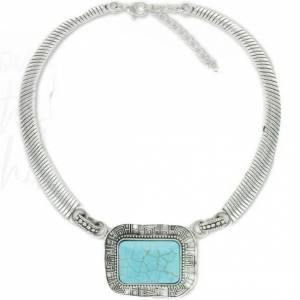 Montana Silversmiths Ladies Turquoise Concho Choker Necklace