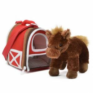 Horse In Stable Carrier