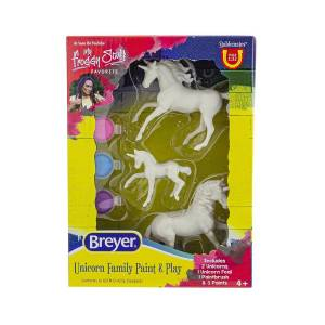 Breyer Unicorn Family Paint And Play