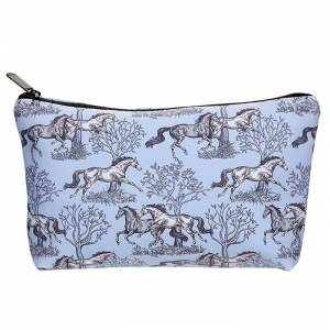 Kelley Toile Large Cosmetic Pouch