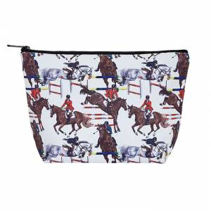 Kelley Jumpers Large Cosmetic Pouch