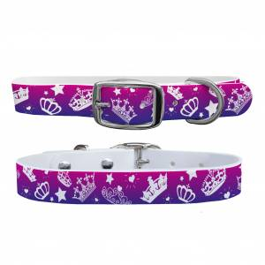 C4 Dog Collar Bling Crowns Collar