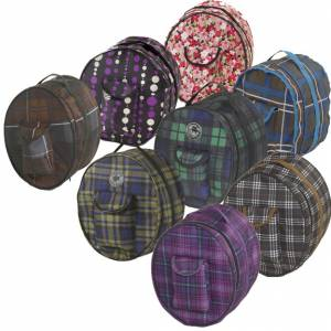 Centaur Classic Plaid Helmet Bag