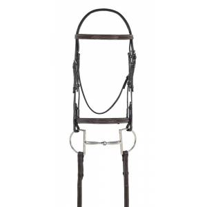 Ovation Fancy Stitched Raised Comfort Crown Padded Bridle