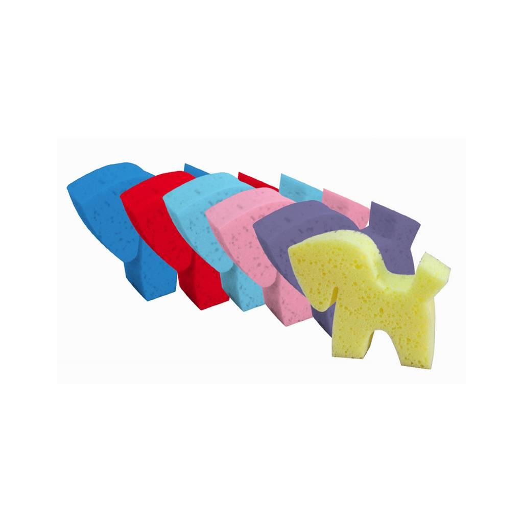 Equi-Essentials Pony Shaped Grooming Sponges - Set of 6