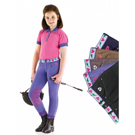 Ovation Jumping Love Schoolers Breeches - Kids