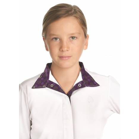 Ovation Ellie Tech Show Shirt - Kids
