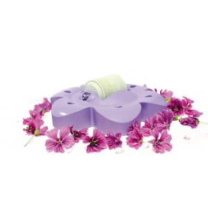 Officinalis Flower with Lolly Roll - Purple:Strawberry/Carob