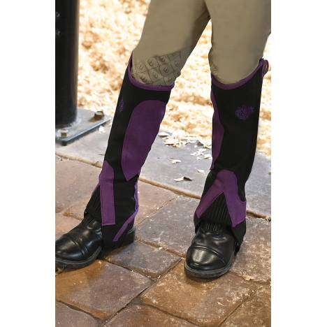 Ovation Horseshoe Half Chaps - Kids