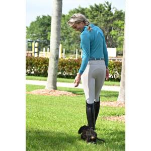 Ovation Aqua-X Silicone Full Seat Breeches - Ladies