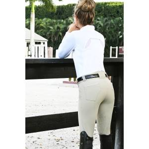 Ovation Destiny Paisley GRIP Knee Patch Breech - Ladies