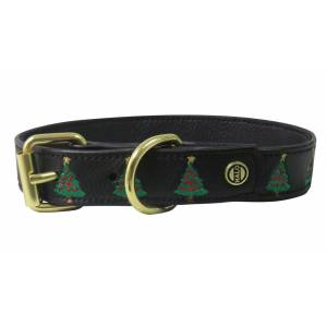 Halo Christmas Tree Dog Collar