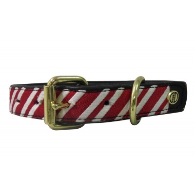 Halo Candycane Dog Collar