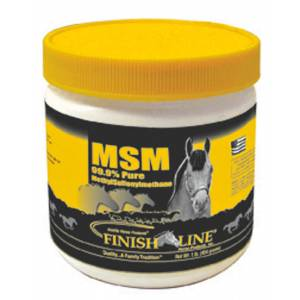Finish Line MSM Sulfur Supplement
