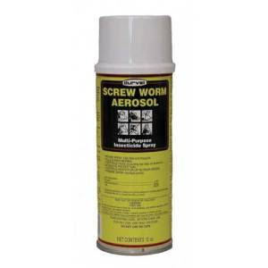 Screw Worm Aerosol Treats Screwworms/Gnats/Flies