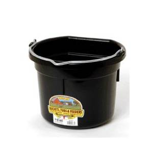 Flatback Bucket For Goats/Sheep/Miniature Horses