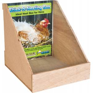 Chick-N-Nesting Box For Chickens
