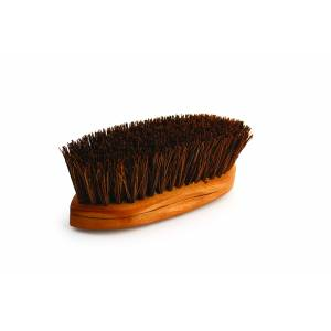 Legends Oiled Palmyra Curved-Back Mud Brush