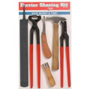 Tough-1 Farrier Craft Hoof Trim Kit - 6 Piece