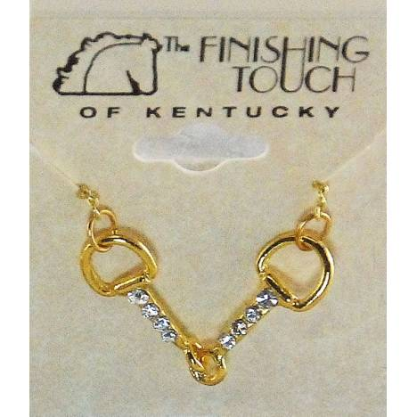 Finishing Touch Snaffle Bit Necklace