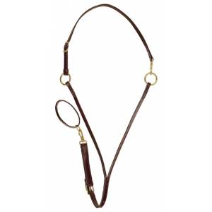TORY LEATHER Training Martingale - Adjustable Straps