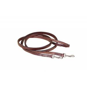 Tory Leather Flat Leather Draw Reins