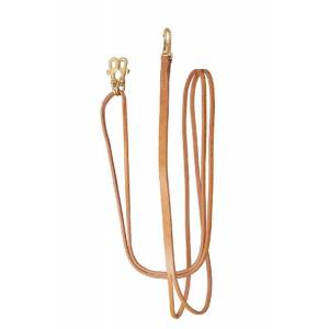 TORY LEATHER Draw Reins - Sliding Rein Snaps