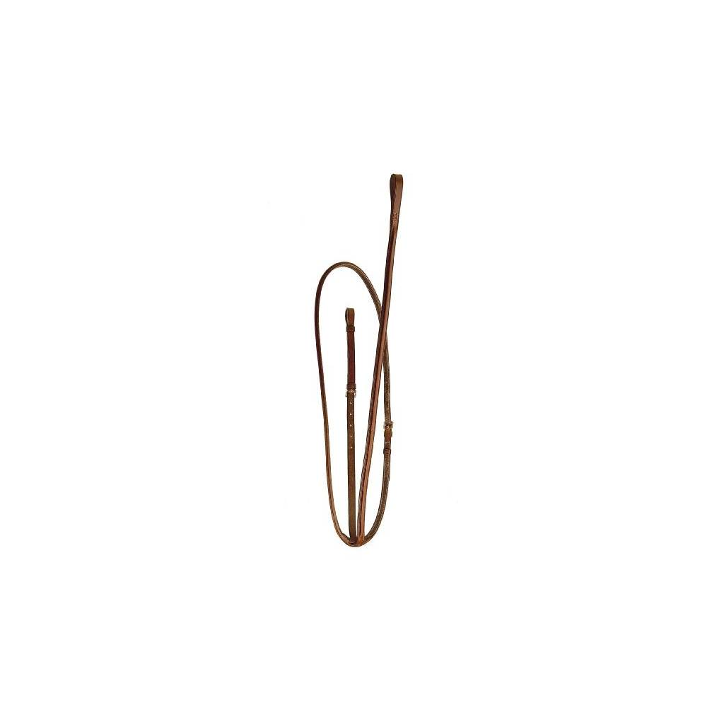 TORY LEATHER Round Raised Standing Martingale