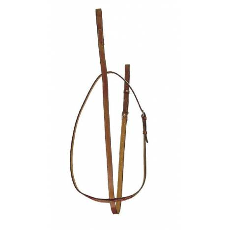 """TORY LEATHER 3/4"""" Bridle Leather Standing Martingale"""