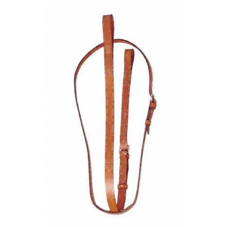 "TORY LEATHER Bridle Leather 1"" Standing Martingale"