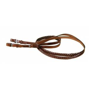 TORY LEATHER 5 Plait Braided English Reins