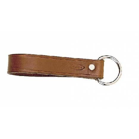 "TORY LEATHER 1"" Girth Loop - Nickel Dee"
