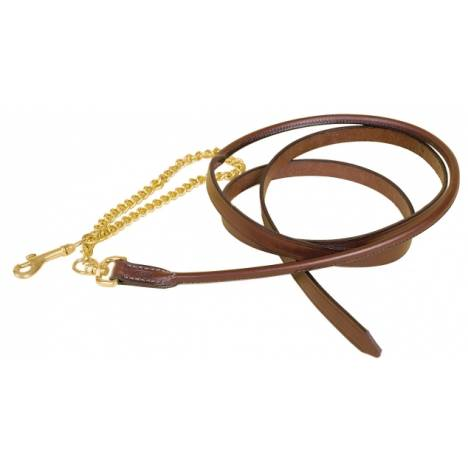 "TORY LEATHER 3/4"" Partial Rolled Lead - Brass Chain"