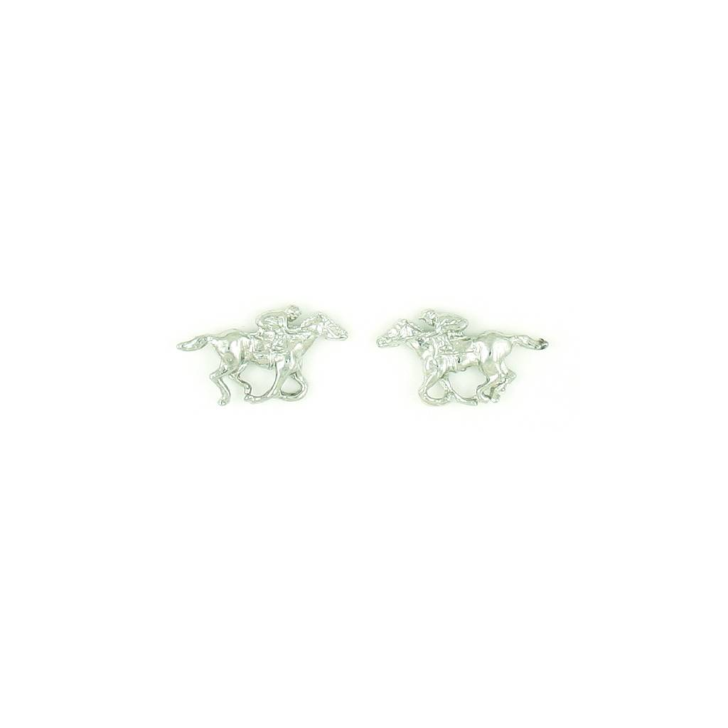 Finishing Touch Thoroughbred Racer Earrings