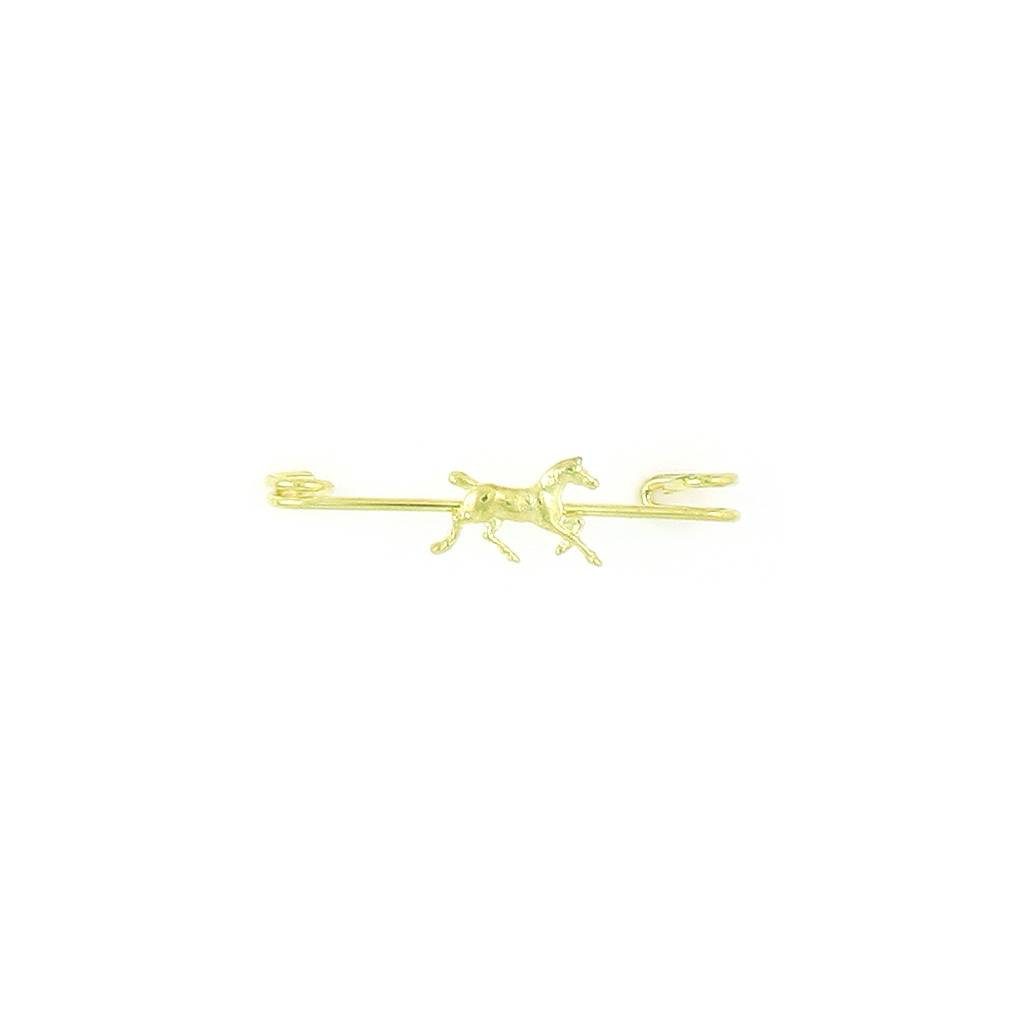 Finishing Touch Trotting Horse Stock Pin