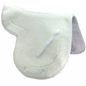 Intrepid English Fleece Saddle Pad - Close Contact