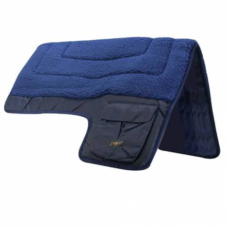 Intrepid Western Fleece Pocket Saddle Pad
