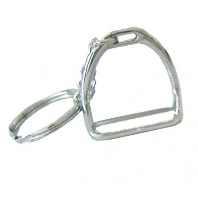 English Stirrup Key Chain