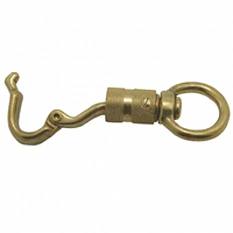 3002 Panic Snap Twist Lock - Solid Brass