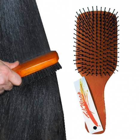 Tail Wrap Paddle Brush