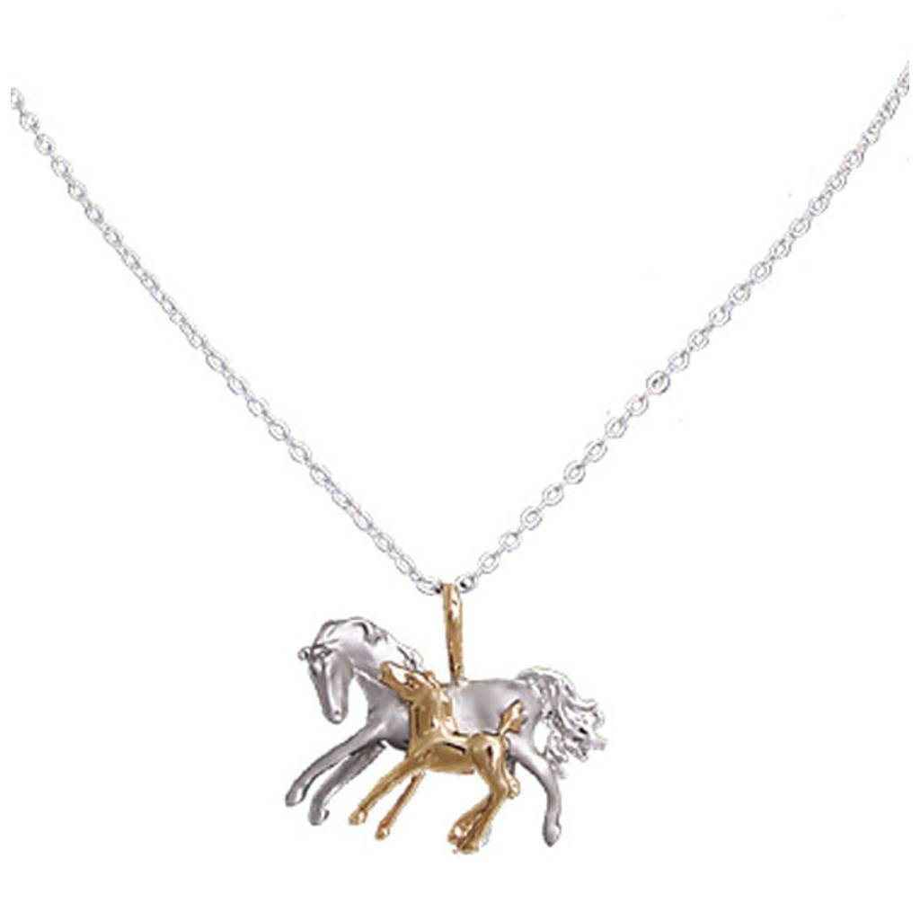 Exselle Mare & Foal Necklace