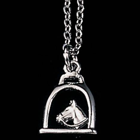 Exselle Stirrup with Horse Head Pendant