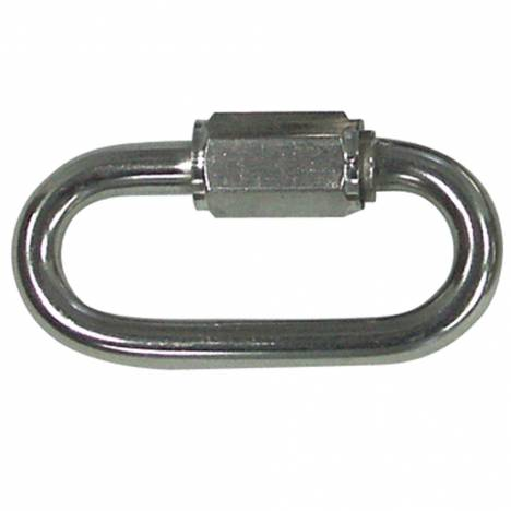 Zinc Plated Quick Link 1/4 - 10 Per Bag