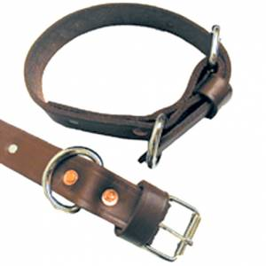 Leather Shackle Bands