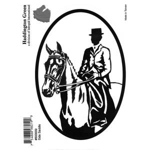 Decal - Side Saddle Rider - Pack Of 6