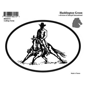 Decal - Cutting Horse - Pack Of 6