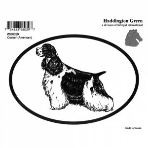 Dog Decal - American Cocker Spaniel - Pack Of 6