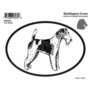 Dog Decal - Fox Terrier - Pack Of 6