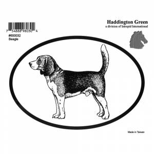 Dog Decal - Beagle - Pack Of 6